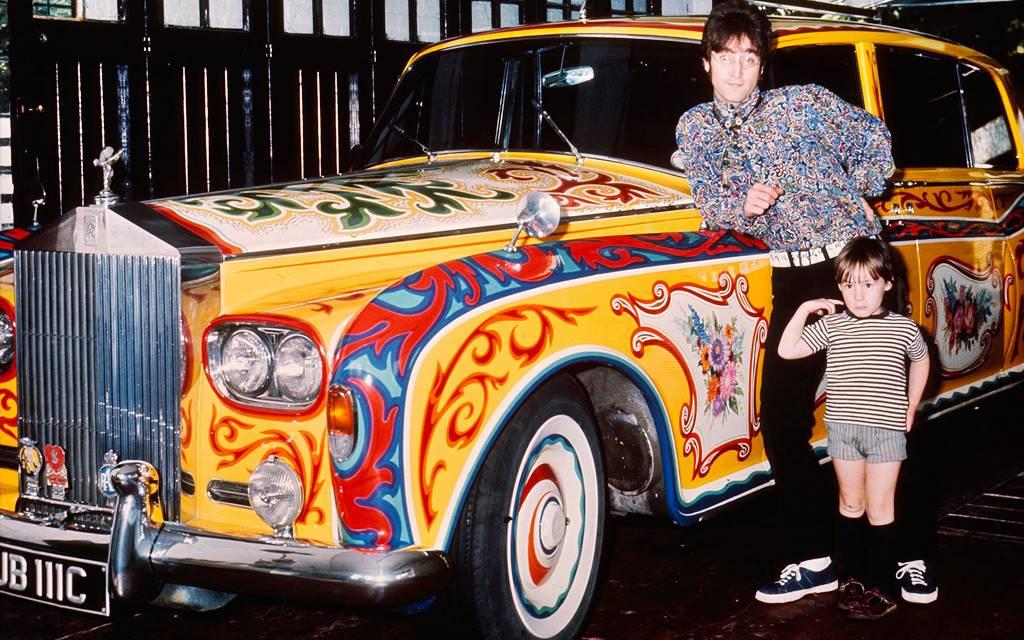 El psicodélico Rolls-Royce de John Lennon
