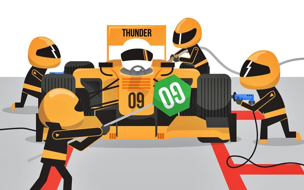 ¿Cómo se realiza un pit stop en la Fórmula 1?