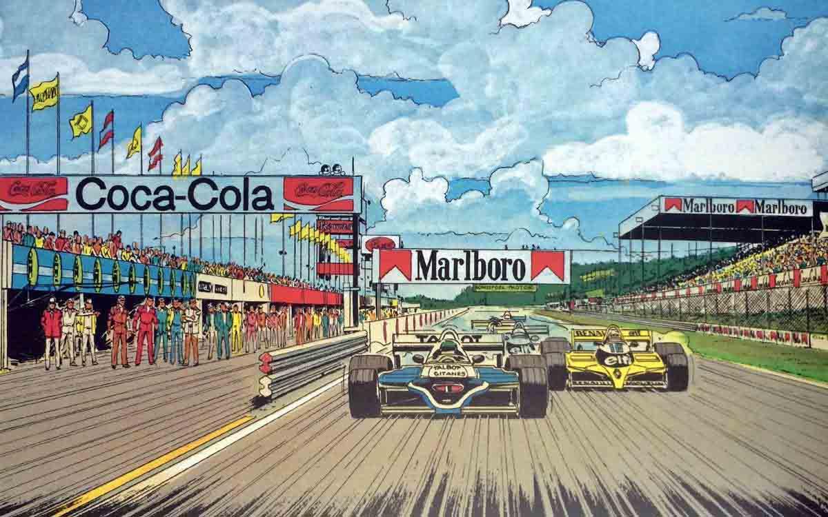 Michel Vaillant: El gran rival de Fangio, Senna y muchos más...