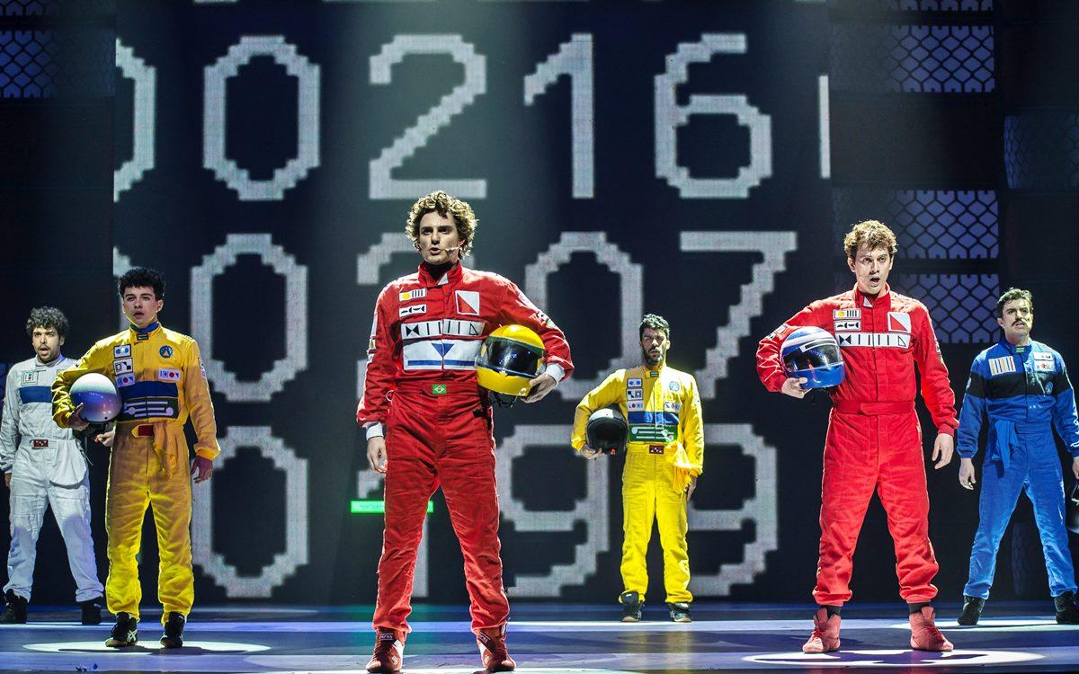 Estrenan en Brasil un musical sobre Ayrton Senna