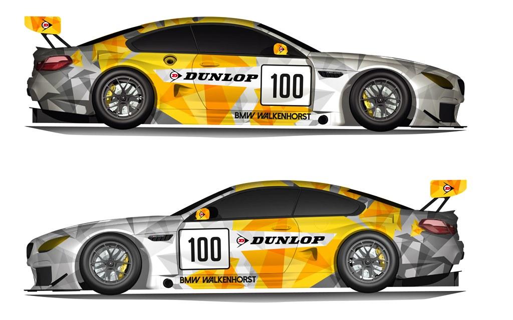 Dunlop Art Cars: BMW M6 GT3 by Jean Pierre Kraemer