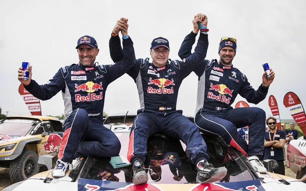 Dakar 2019: Sainz, Peterhansel y Despres correrán para MINI