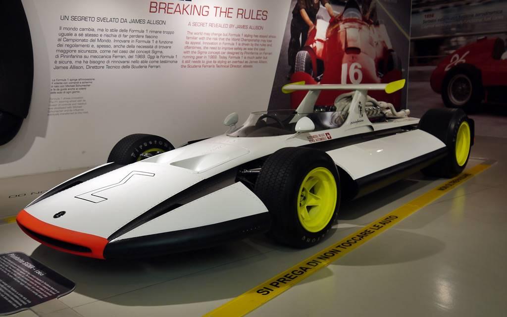 Pininfarina Sigma F1 Concept: El F.1 que nació para ser seguro