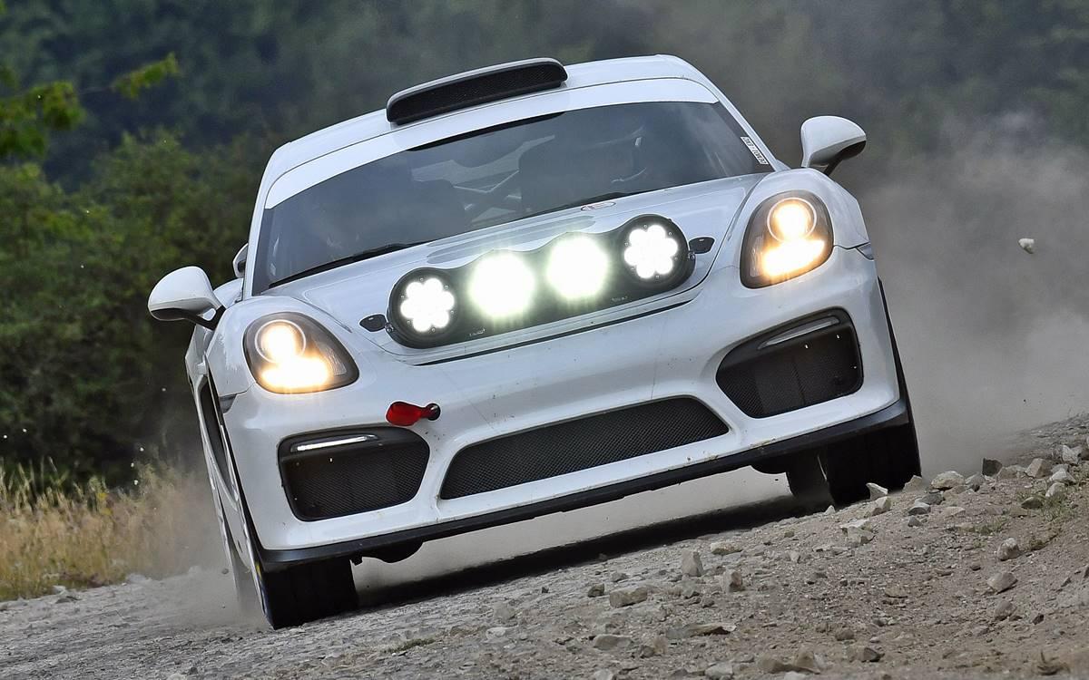 Conocé el Porsche que podría correr en rally
