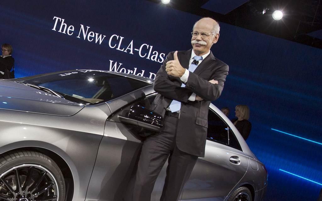 Dieter Zetsche deja el cargo de presidente de Daimler
