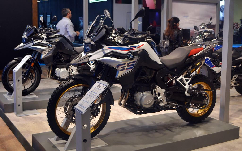 Salón Moto: BMW con dos lanzamientos