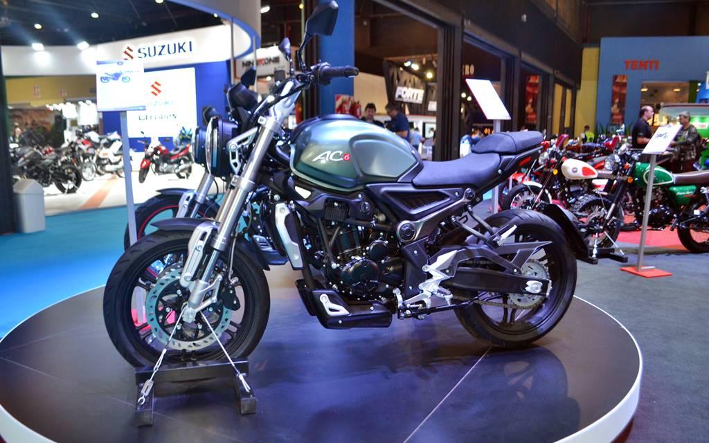 Salón Moto: Gilera y su toque vintage