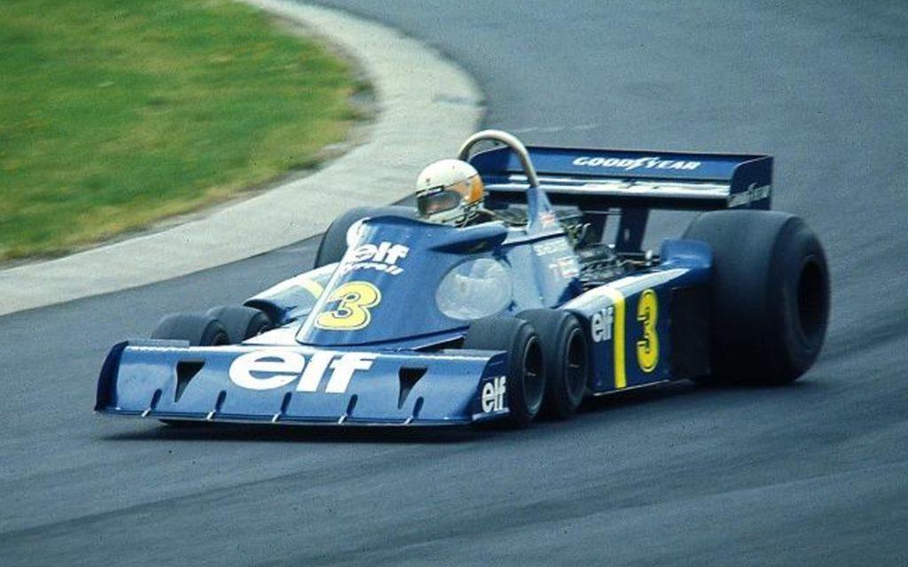 Tyrrell P34: El legendario F.1 de seis ruedas