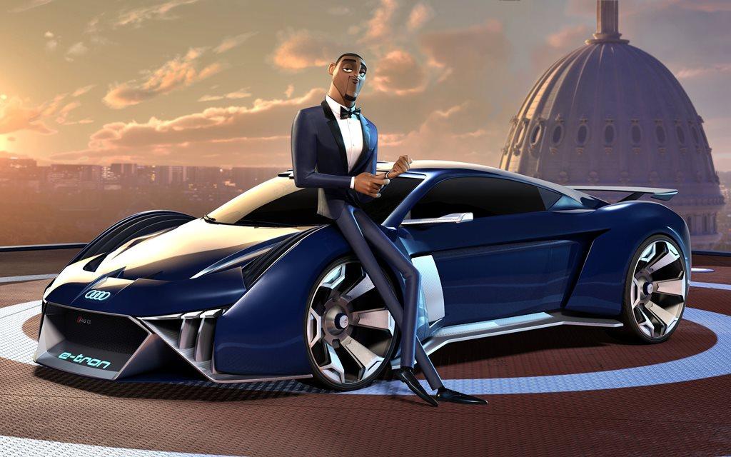 Así es el auto que diseñó Audi para la película animada Spies in Disguise