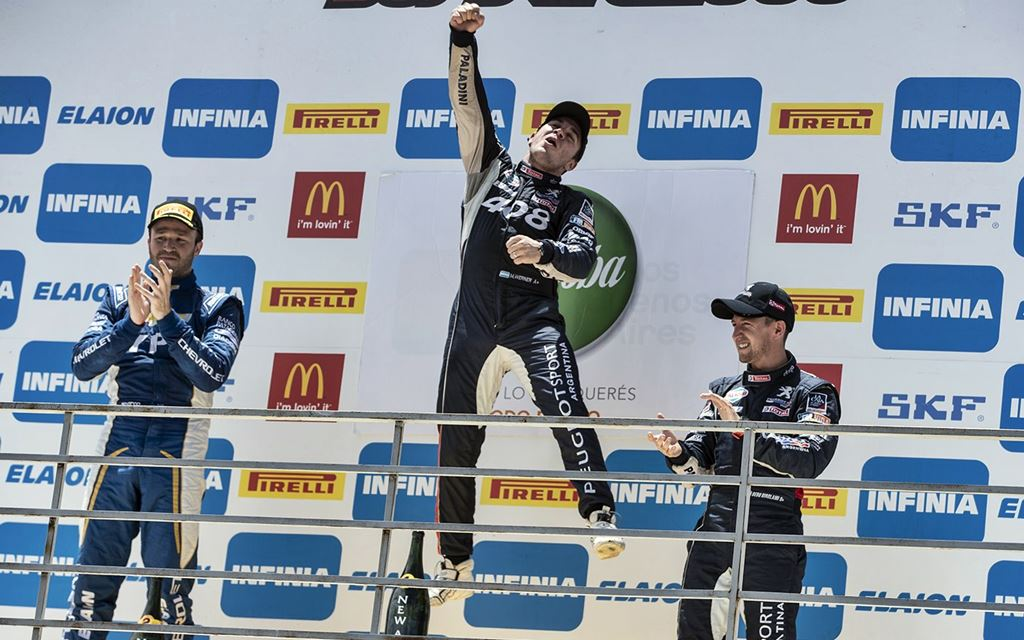 ¡Facundo Arduso, bicampeón del Súper TC2000!