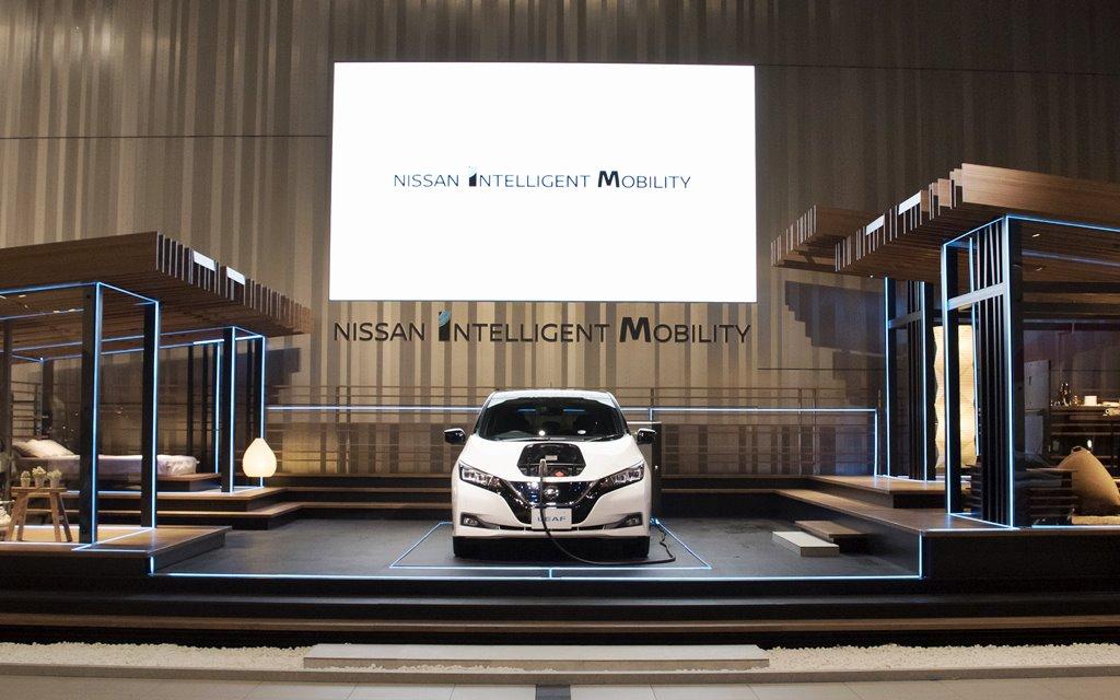 Nissan Energy Home: La casa que se alimenta con la energía de un vehículo eléctrico