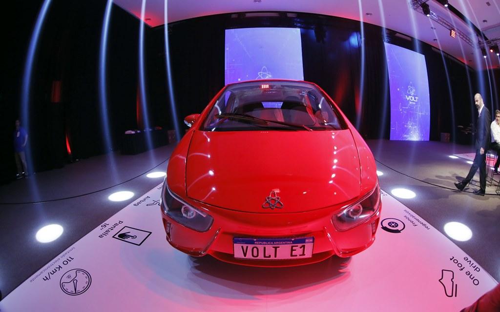 Volt e1: Así es el primer auto eléctrico Made in Argentina
