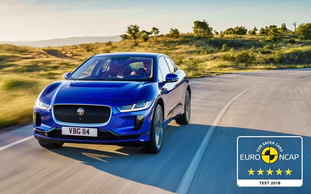 Euro NCAP: El Jaguar I-PACE eléctrico logró cinco estrellas