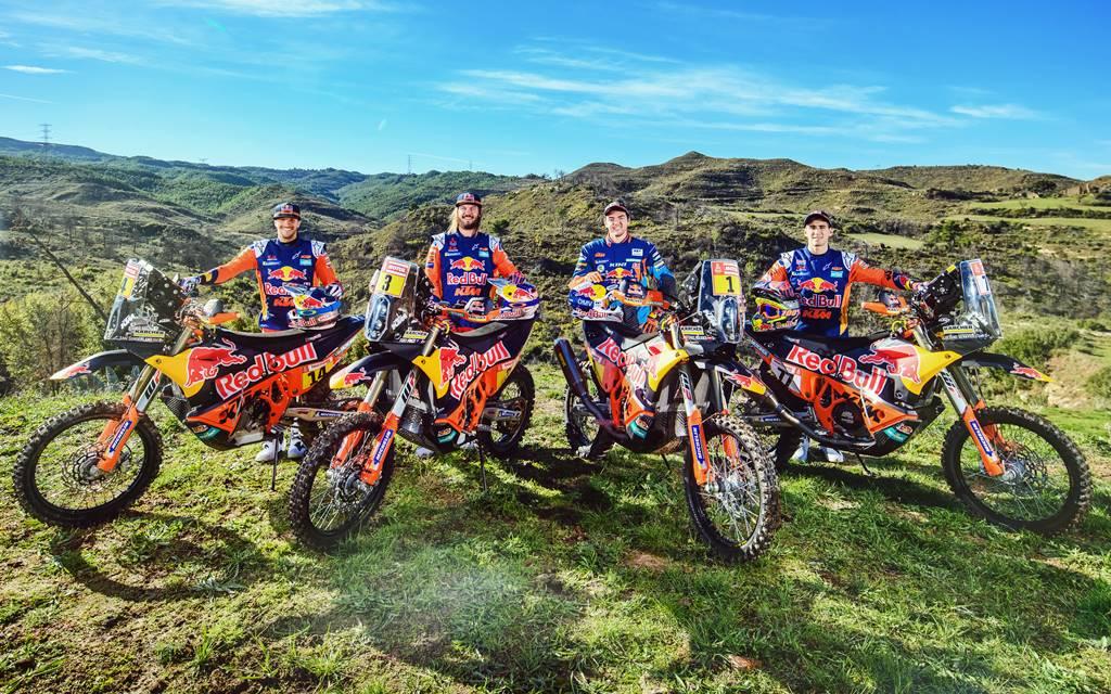 Dakar 2019: KTM presentó a sus pilotos y tiene a un argentino