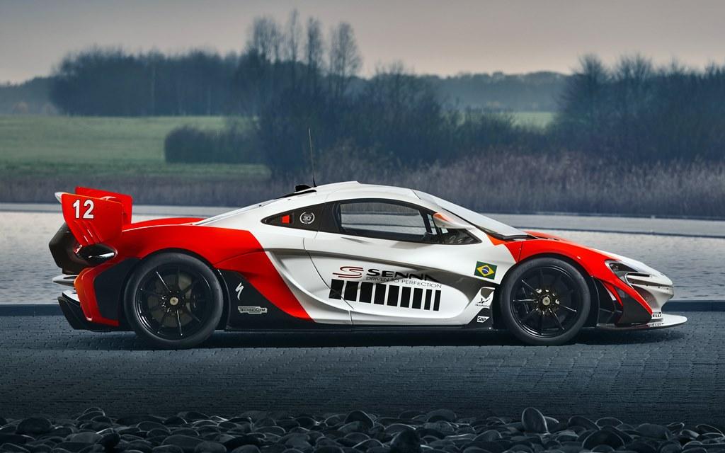 El McLaren P1 GTR que le rinde tributo a Ayrton Senna