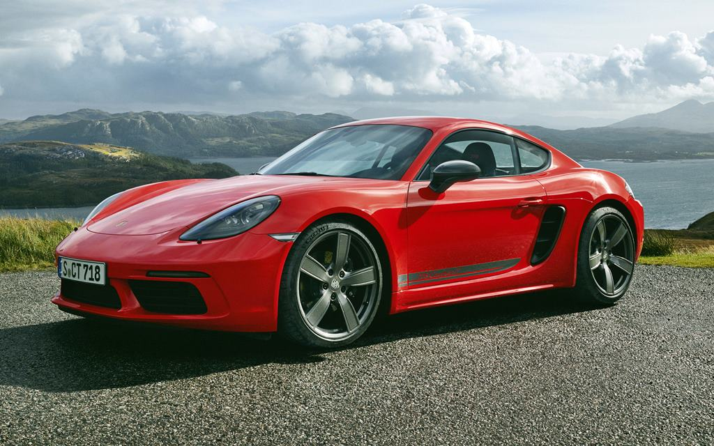 Nuevo Porsche 718 T: Placer de conducción