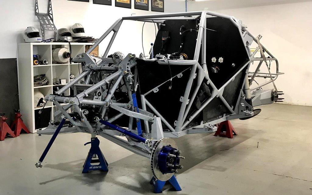 ¿Cómo se construye un auto para el Dakar?