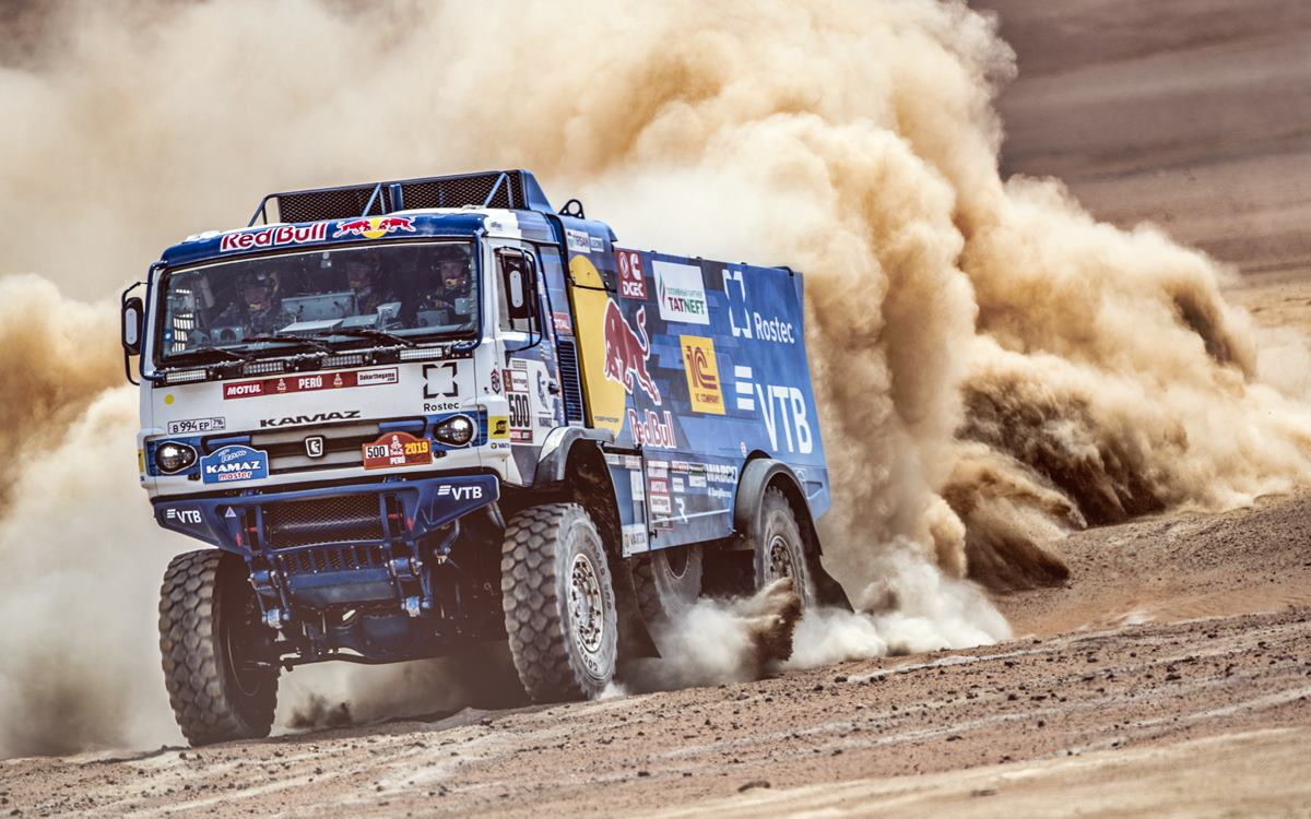 Camiones: Eduard Nikolaev lidera el triplete de Kamaz