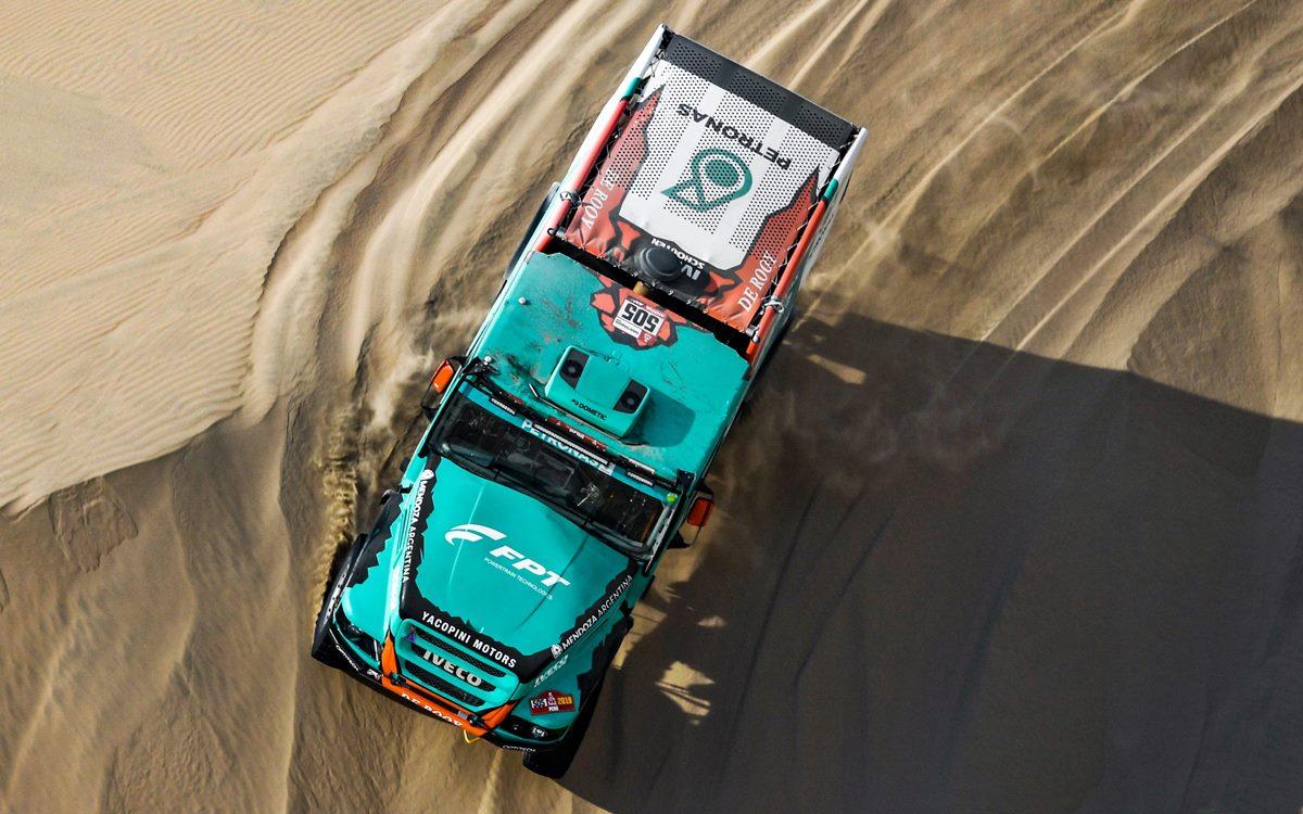 Camiones: Villagra al final está tercero en la general