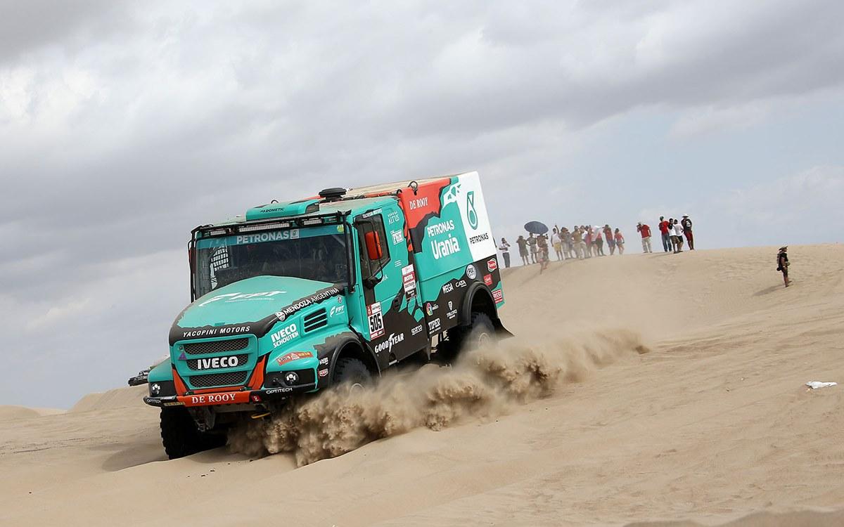 Camiones: Federico Villagra nuevo escolta de Eduard Nikolaev