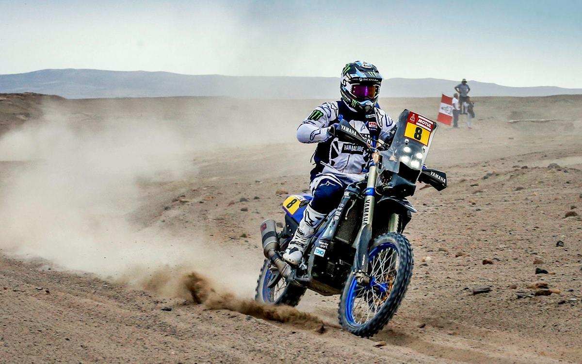 Franco Caimi, otra baja argentina en el Dakar 2019