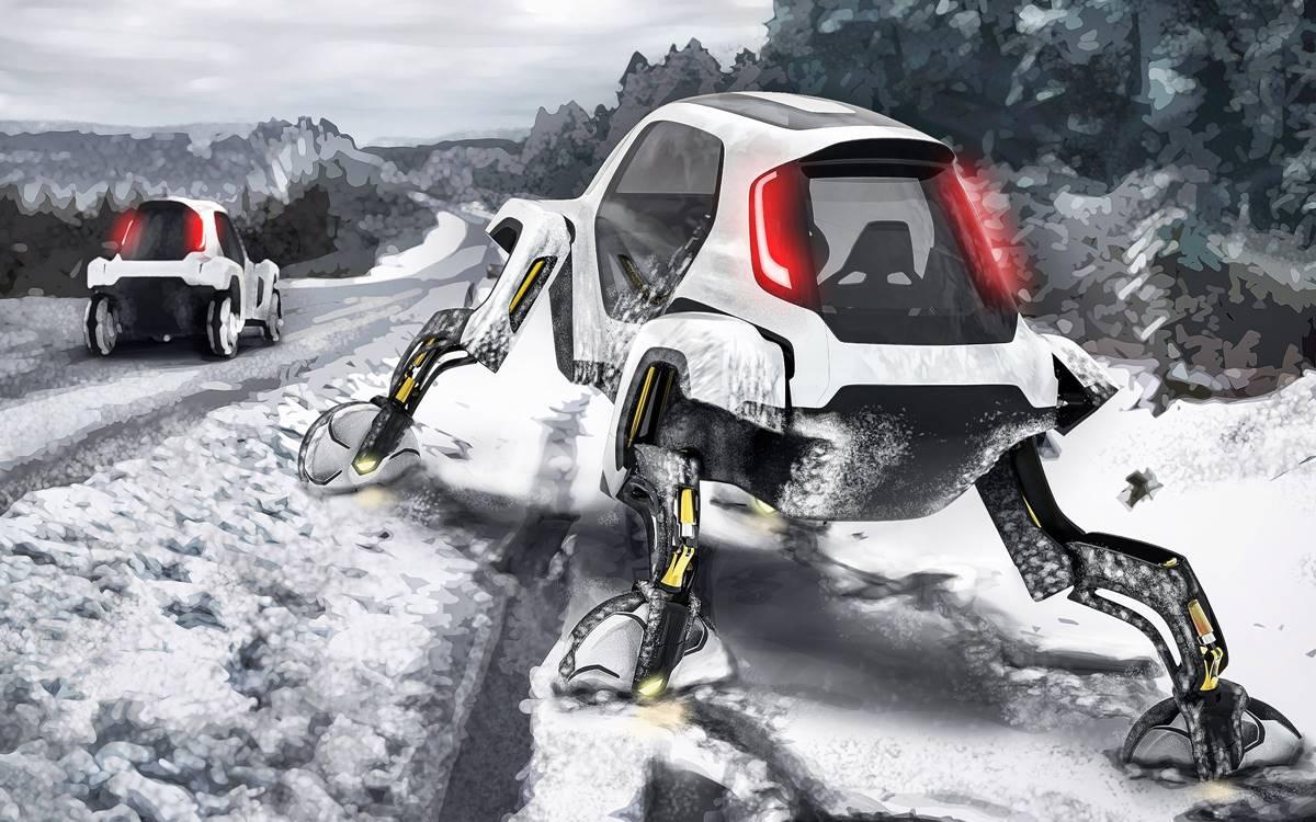 Hyundai Elevate: El auto que camina