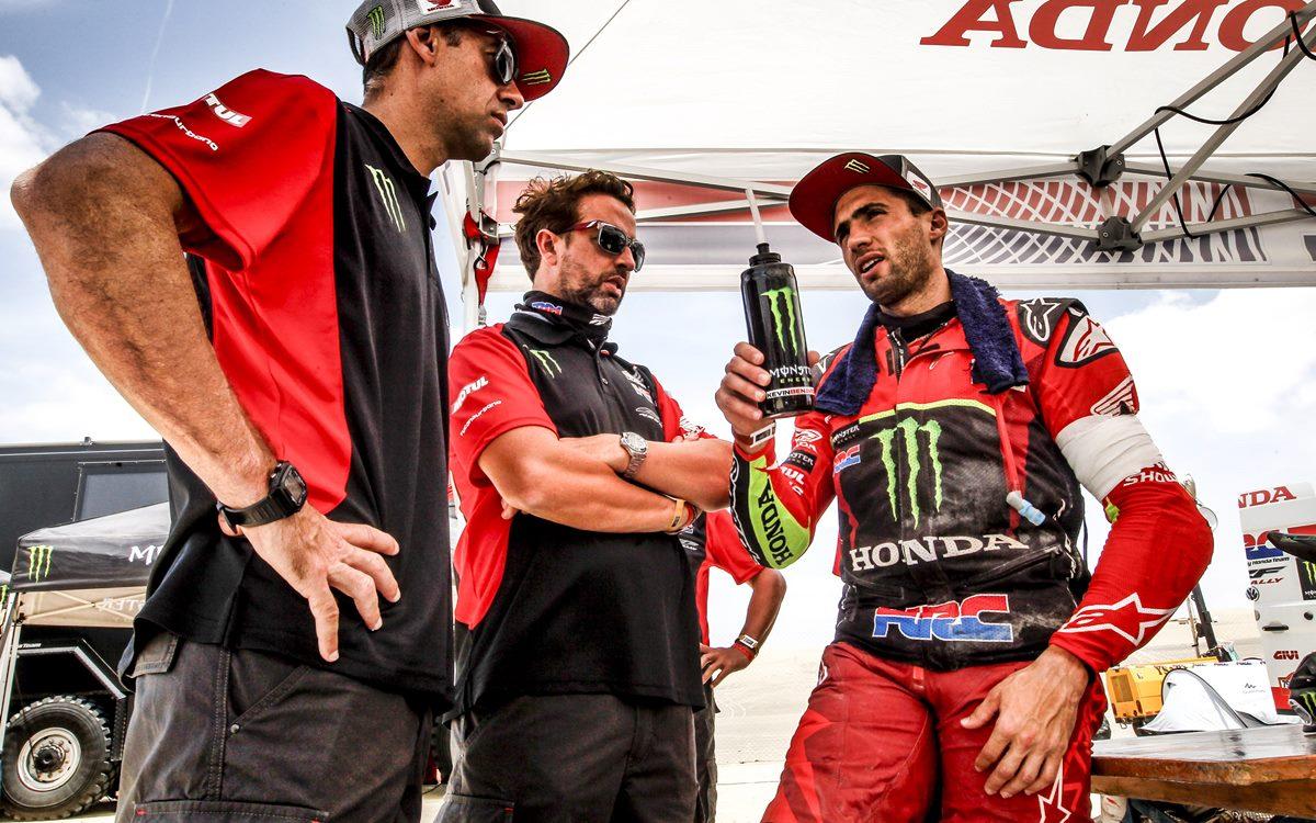 En Honda están furiosos con las autoridades del Dakar 2019