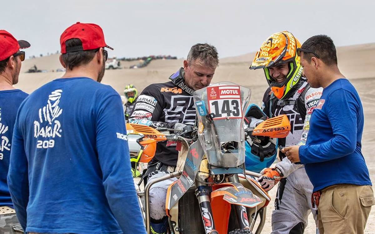 Excluyeron a Nicola Dutto, el motociclista parapléjico, por una confusa situación