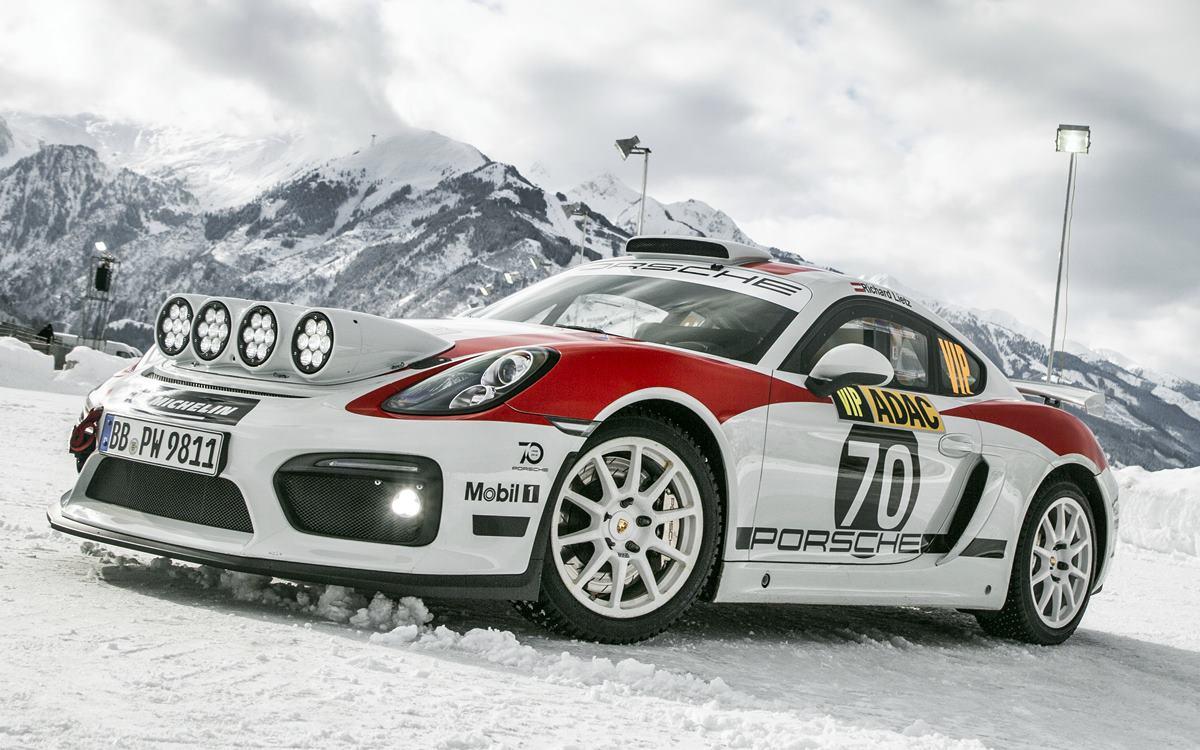 El Porsche 718 Cayman GT4 Clubsport se prepara para derrapar