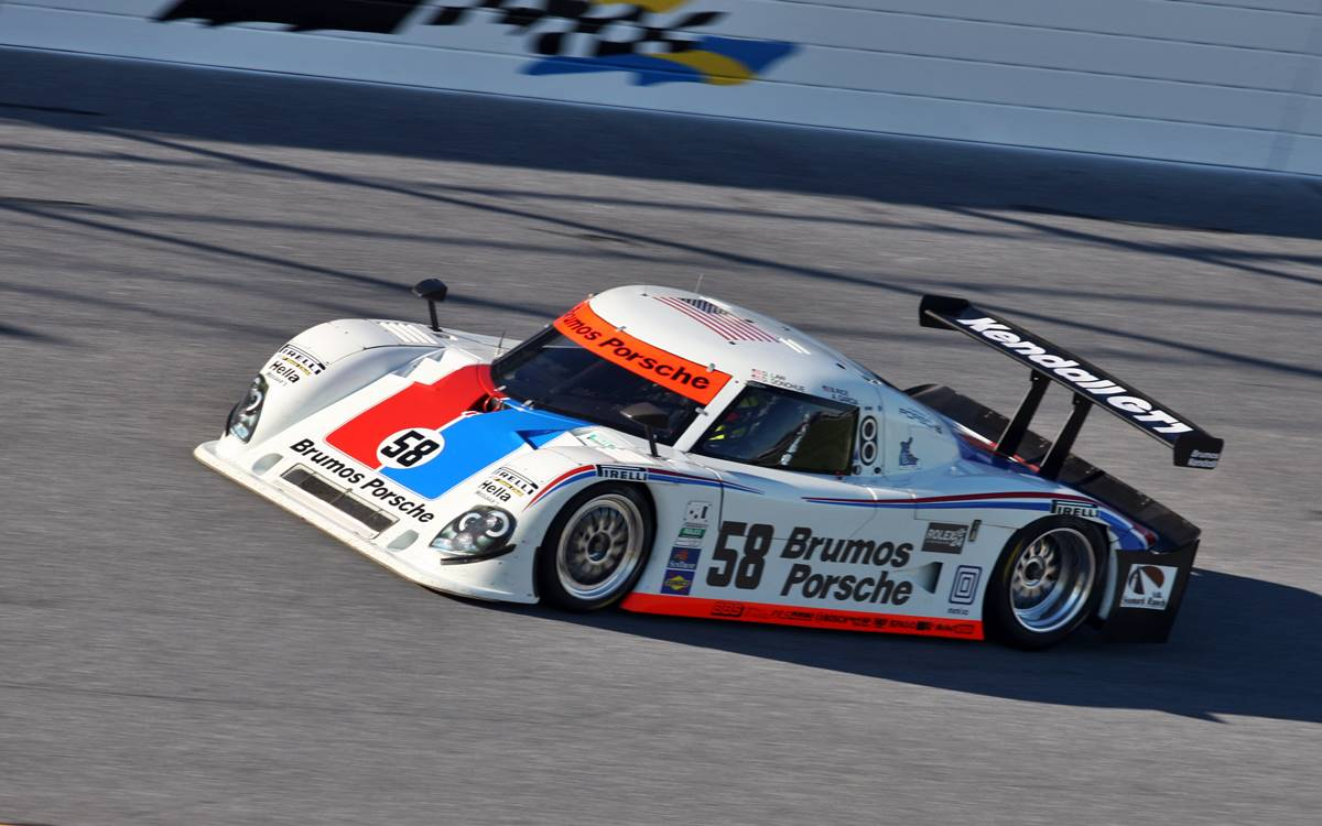Porsche homenajea al equipo Brumos en las 24 Horas de Daytona
