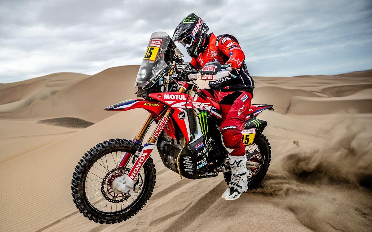 Motos: Ricky Brabec recuperó el liderazgo