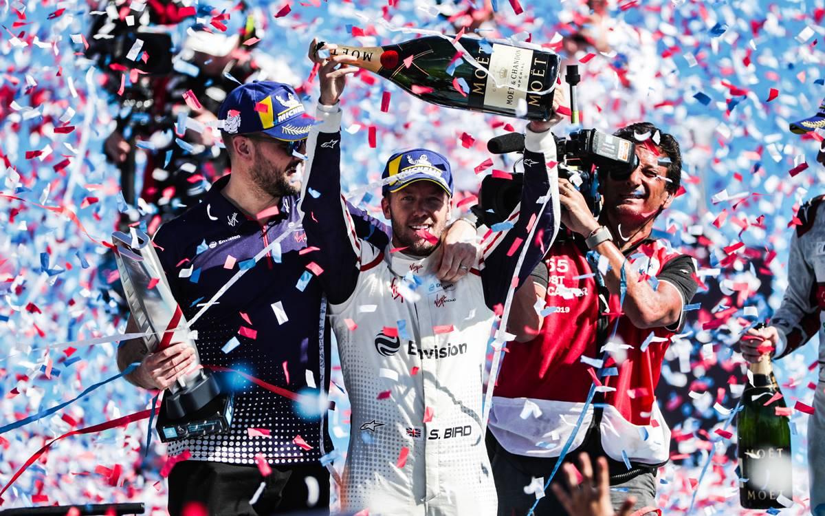 Fórmula E: Victoria de Sam Bird en Chile