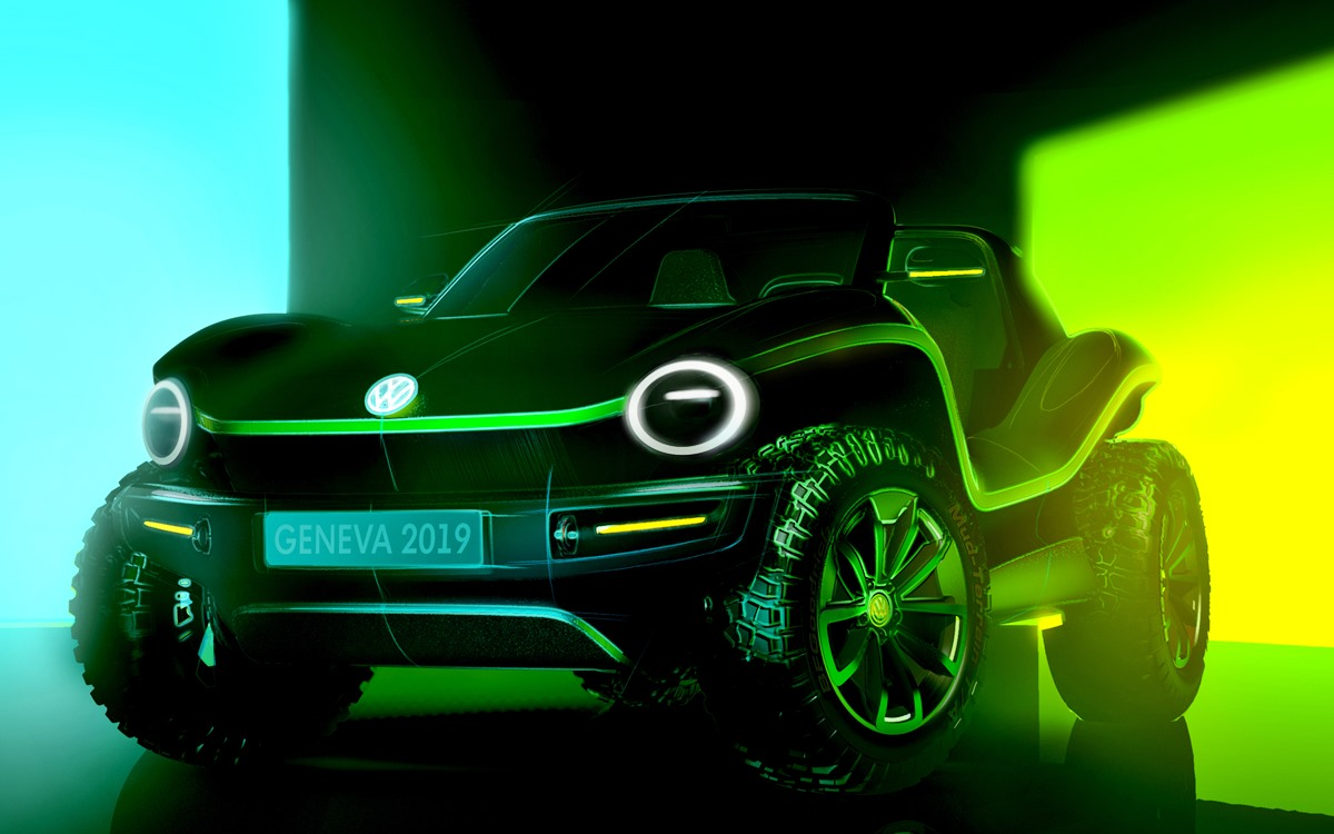 El Buggy vuelve de la mano de Volkswagen, ¡y ahora es eléctrico!