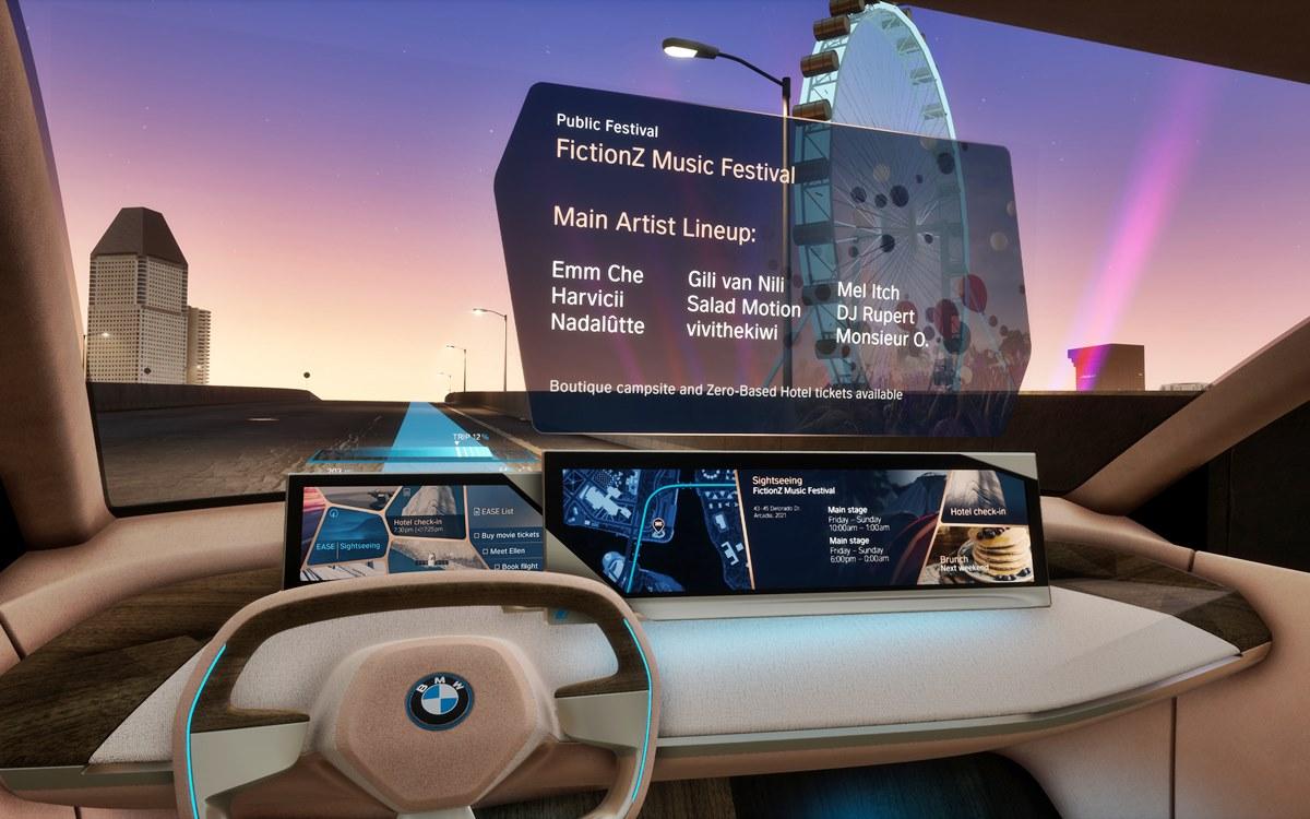 BMW incorporará en el iNext funciones de interacción gestual, de voz y con la mirada