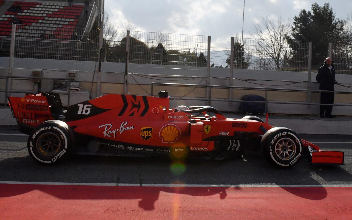 Ferrari sigue arriba y esta vez con Charles Leclerc