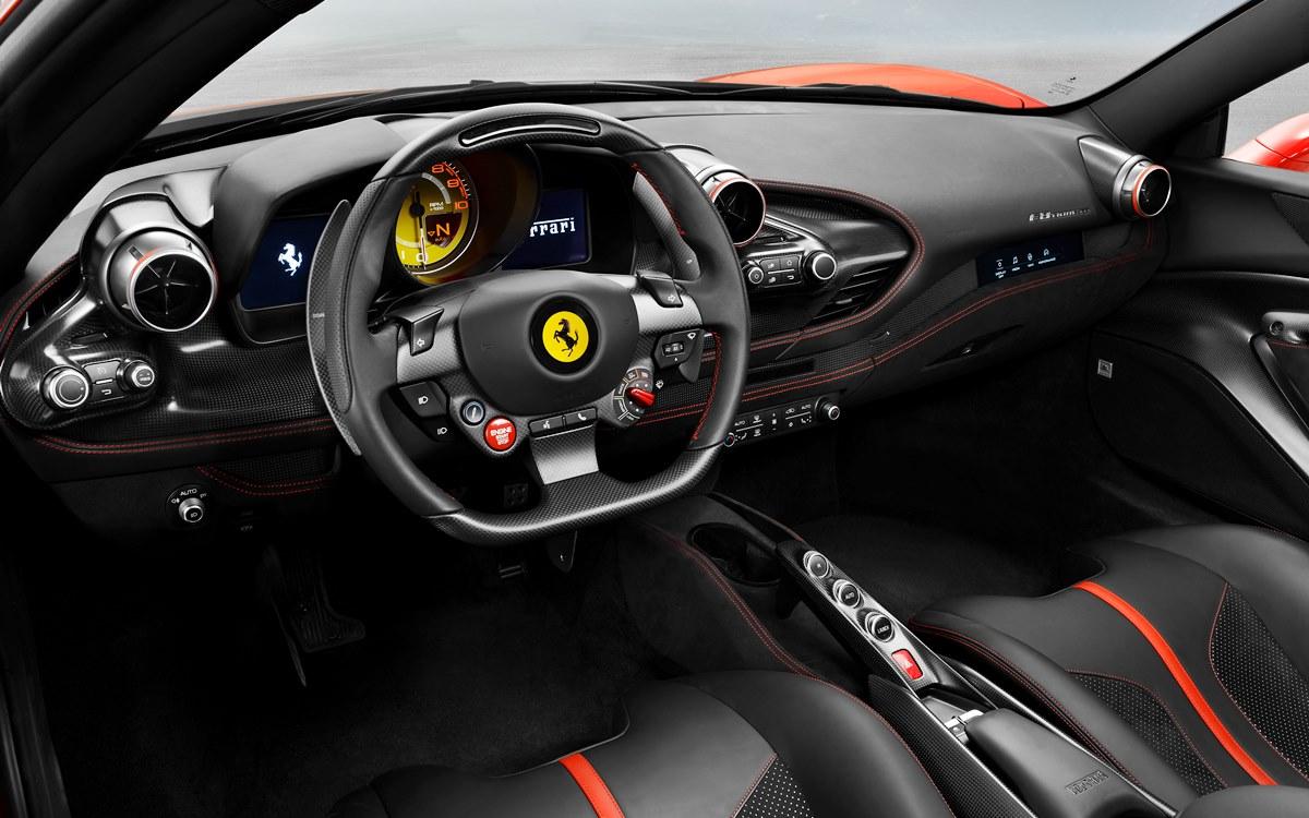 Ferrari F8 Tributo: Un homenaje al galardonado V8 de Maranello