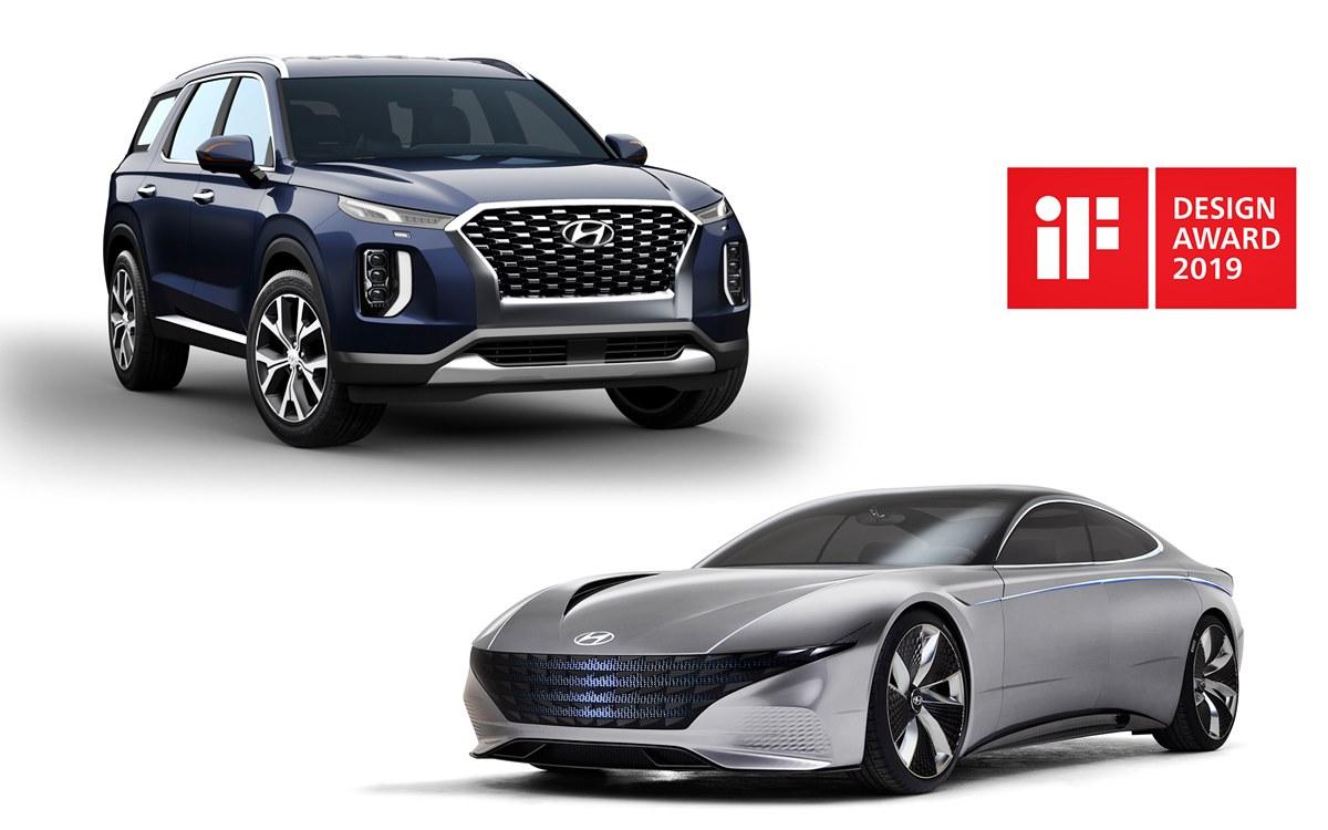 Premios para los Hyundai Palisade y Le Fil Rouge