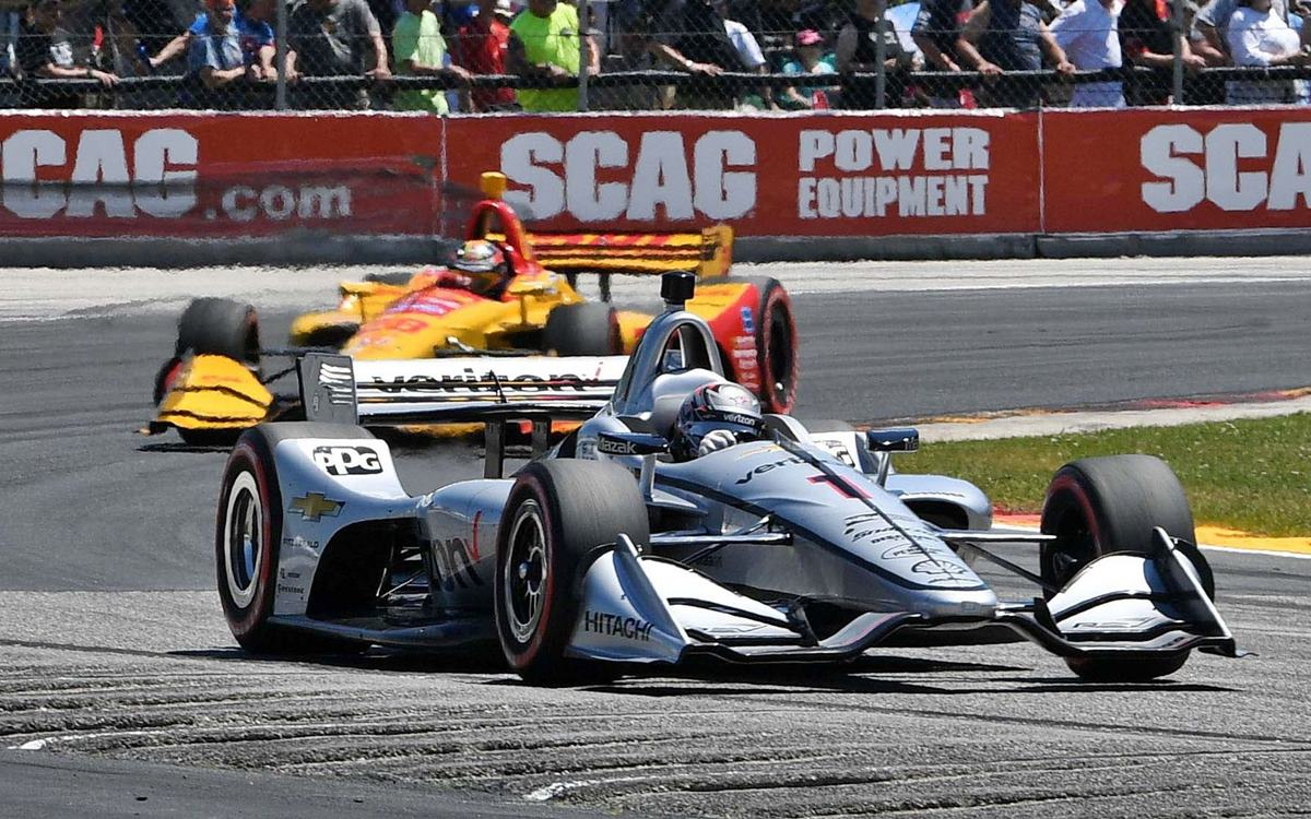 El IndyCar cerca de San Juan