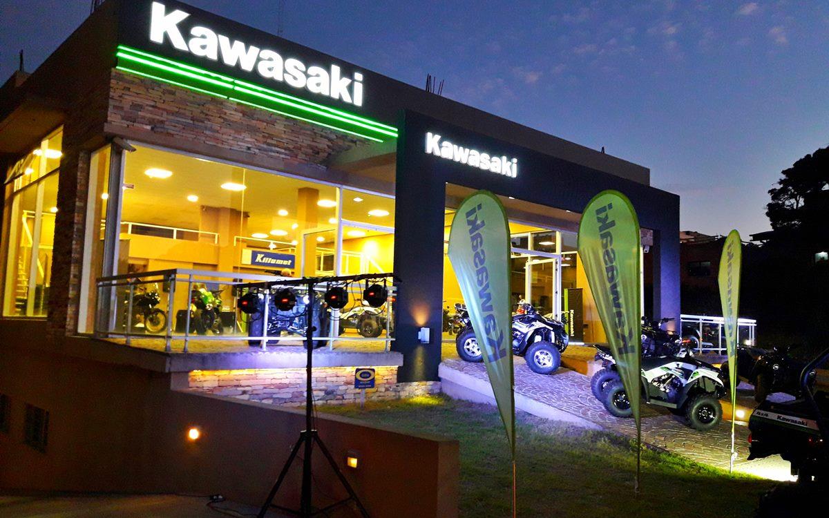 Kawasaki refuerza su presencia en Pinamar