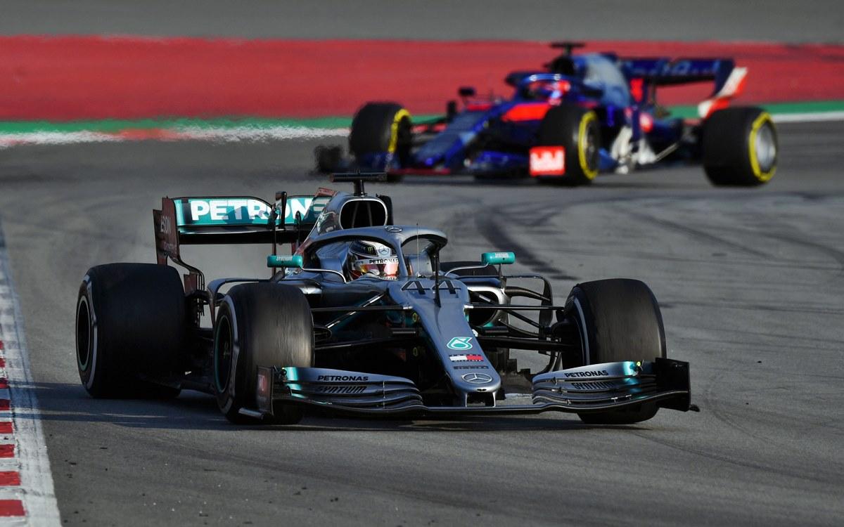 Fórmula 1: Así fue la primera semana de pruebas