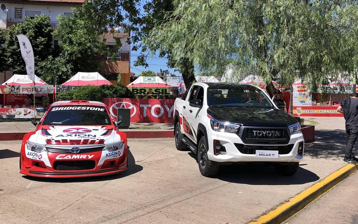 Toyota se suma a la Fiesta del Automovilismo de Balcarce