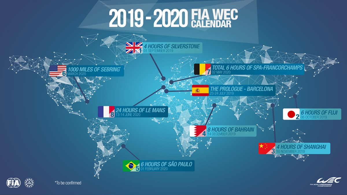 Toyota confirmó su participación en la temporada 2019/2020 del WEC