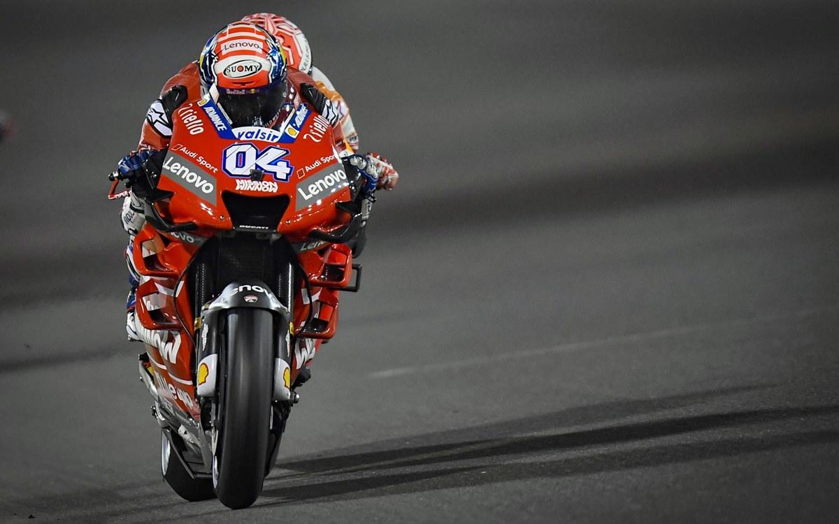 Confirman triunfo de Andrea Dovizioso en Qatar