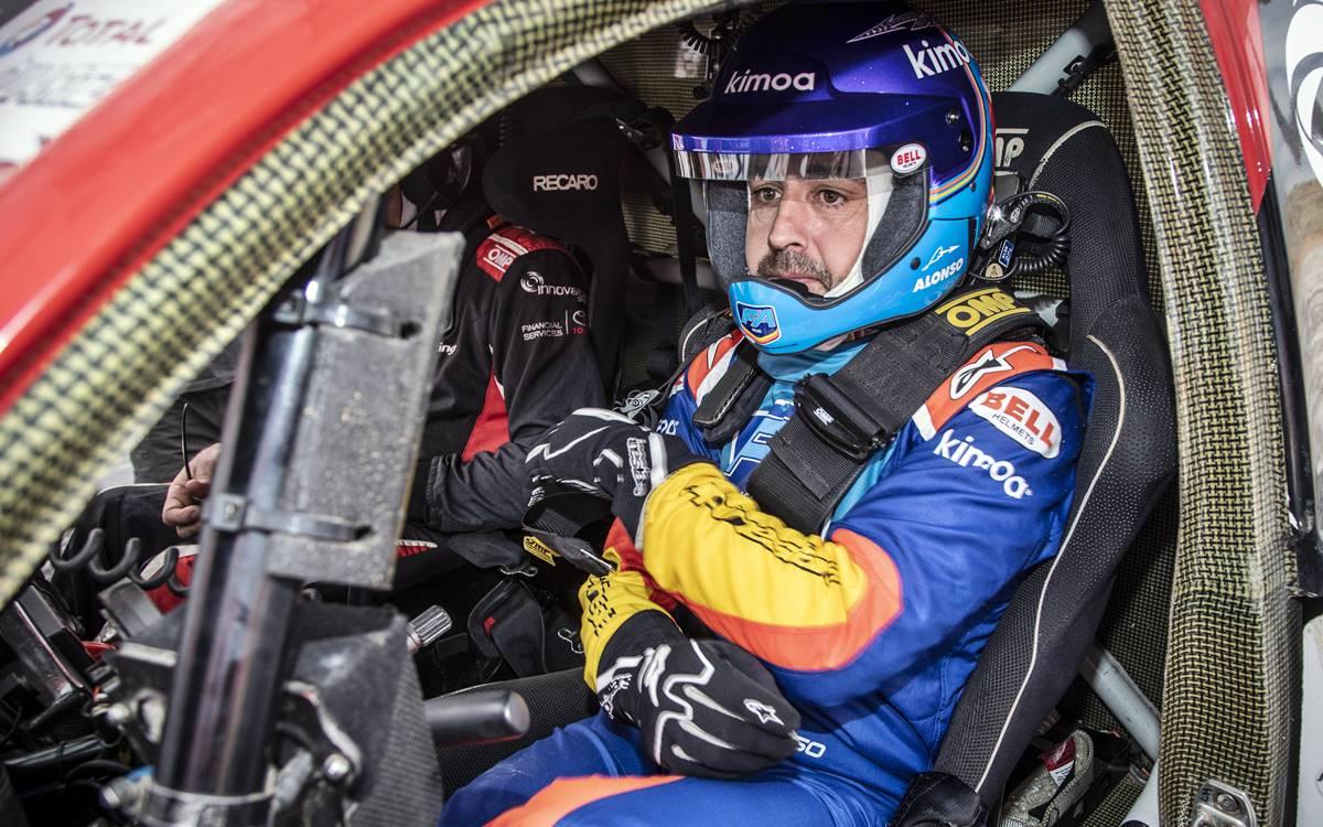 El Dakar espera a Fernando Alonso con los brazos abiertos