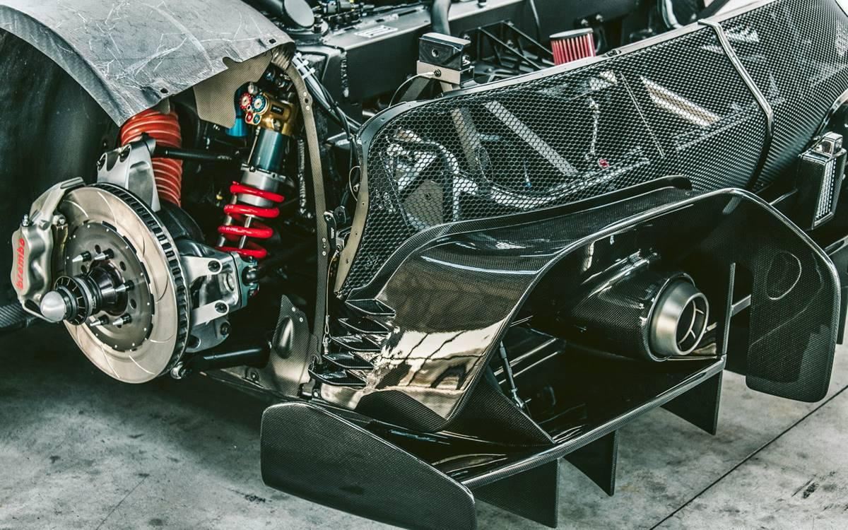 Ferrari P80/C: Un one-off llevado al extremo