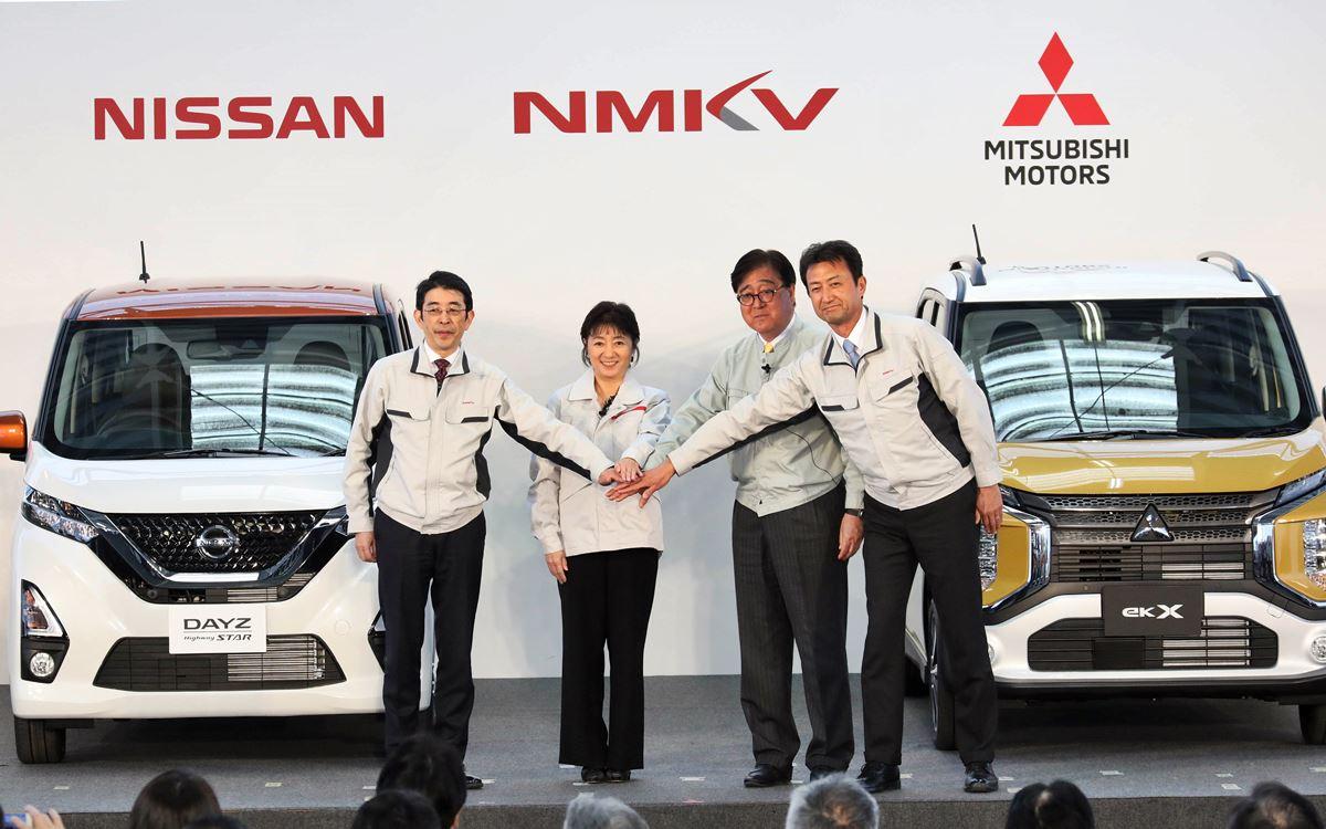 Nissan y Mitsubishi desarrollan en conjunto cuatro kei cars