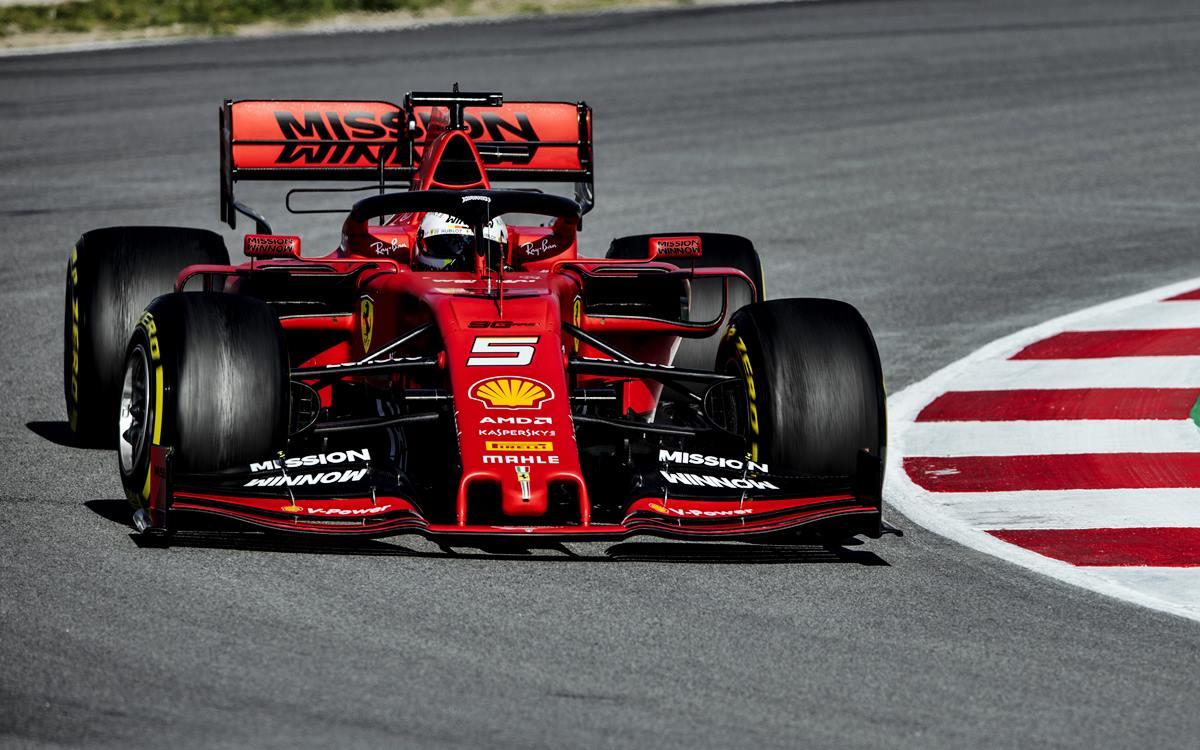 Sebastian Vettel le puso nombre a su Ferrari SF90