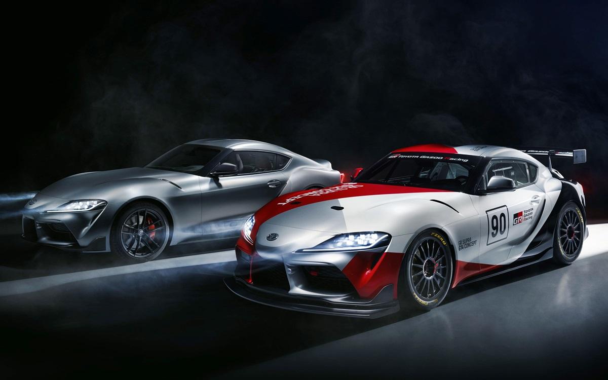 Toyota GR Supra GT4 Concept: Preparado para correr