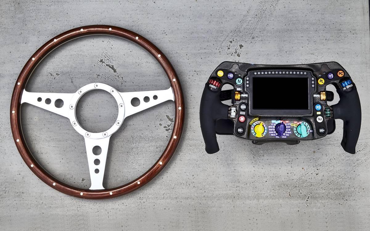 Así es un volante de Fórmula 1