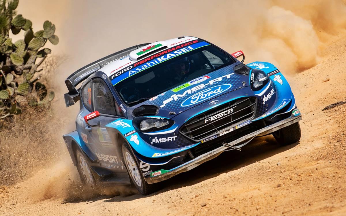Elfyn Evans quiere otro podio en el Rally de Argentina